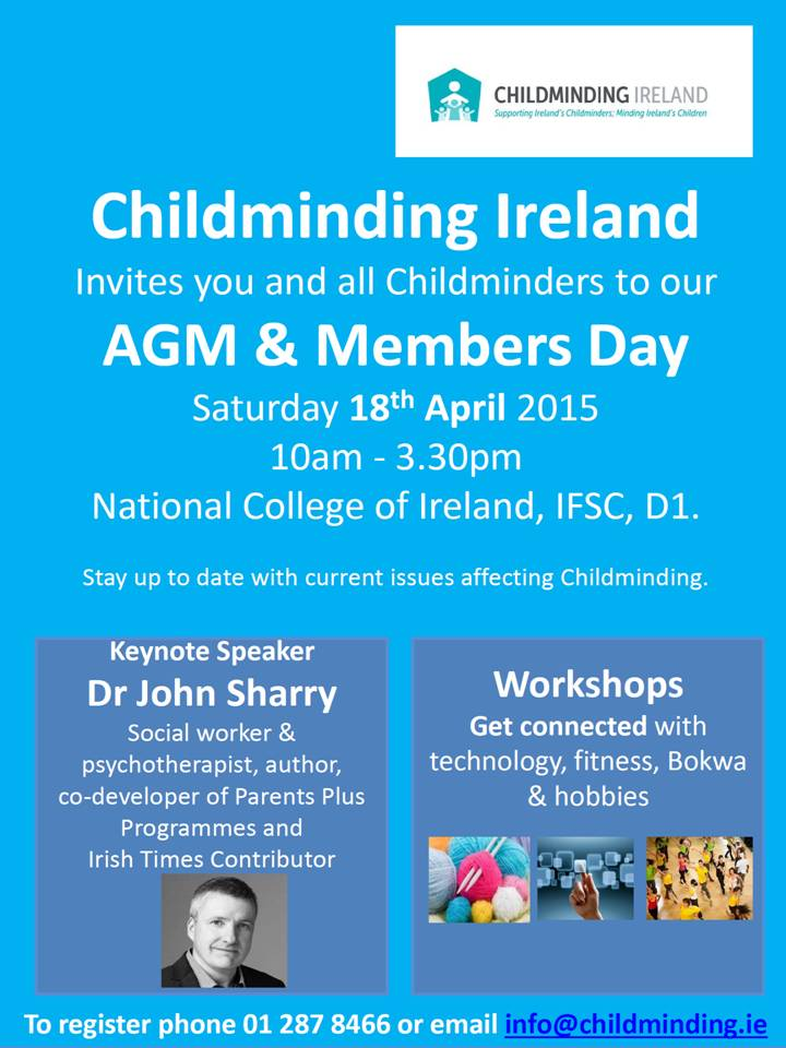 CMI AGM April 18th Dublin